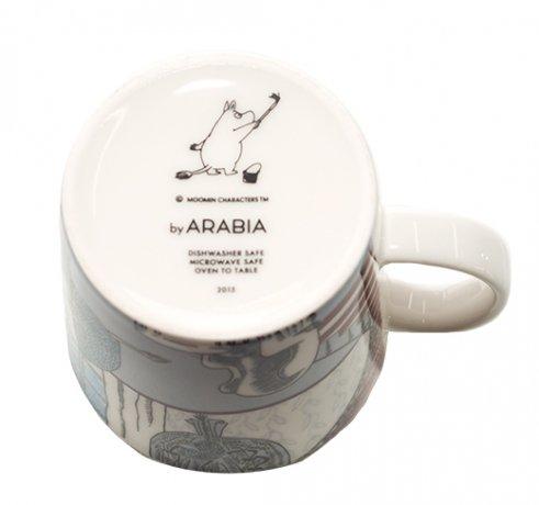 アラビア ムーミンマグカップ ウィンター・スリップ 2015年 冬季限定 ARABIAの写真No.4