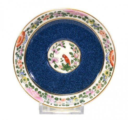 【送料無料】オールドロイヤルウースターOld Worcester Parrotデミタスカップ&ソーサーC.1760.A.D.Royal Worcesterの写真No.4