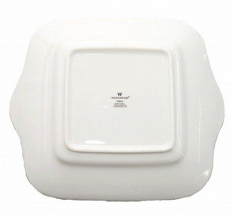 【セール】WEDGWODD ウェッジウッド インディア ブレッド&バタープレート(BB手付)   ウエッジウッド 廃盤 ブランド食器 トレイ アンティーク usedの写真No.5