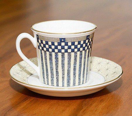 ウェッジウッド/WEDGWOOD サムライ/Samurai デミタスカップ&ソーサー WEDGWODD カップアンドソーサー 廃盤 コーヒー 食器 ギフトの写真No.2