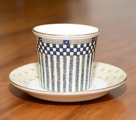 ウェッジウッド/WEDGWOOD サムライ/Samurai デミタスカップ&ソーサー WEDGWODD カップアンドソーサー 廃盤 コーヒー 食器 ギフトの写真No.3