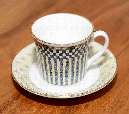 ウェッジウッド/WEDGWOOD サムライ/Samurai デミタスカップ&ソーサー WEDGWODD カップアンドソーサー 廃盤 コーヒー 食器 ギフトの写真No.4