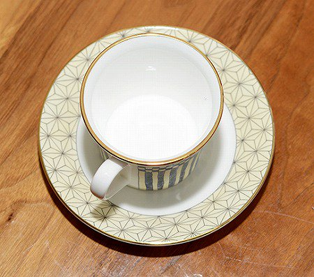 ウェッジウッド/WEDGWOOD サムライ/Samurai デミタスカップ&ソーサー WEDGWODD カップアンドソーサー 廃盤 コーヒー 食器 ギフトの写真No.6