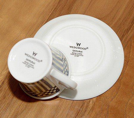 ウェッジウッド/WEDGWOOD サムライ/Samurai デミタスカップ&ソーサー WEDGWODD カップアンドソーサー 廃盤 コーヒー 食器 ギフトの写真No.7