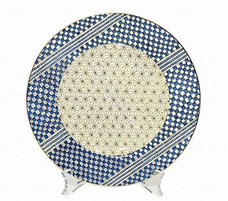 ウェッジウッド/WEDGWOOD サムライ/Samurai アクセント プレート20cm WEDGWODD 中皿 廃盤 食器 ギフト の写真