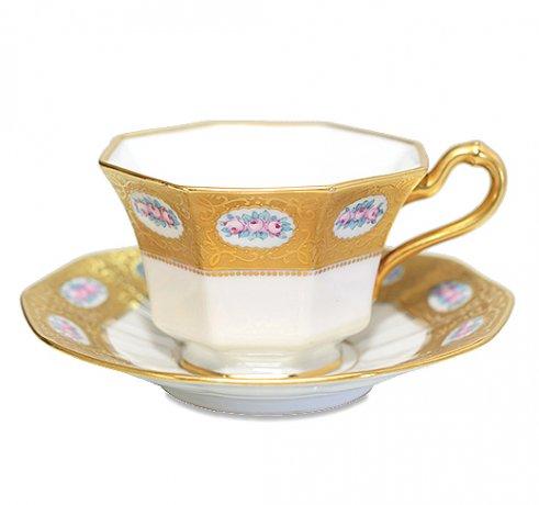 【送料無料】BAVARIA ババリア ティルシェンロイト ティーカップ &ソーサー  ババリア カップ 食器 TIRSHENREUTHの写真