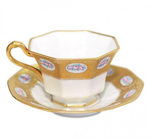 【送料無料】BAVARIA ババリア ティルシェンロイト ティーカップ &ソーサー  ババリア カップ 食器 TIRSHENREUTHの写真No.2