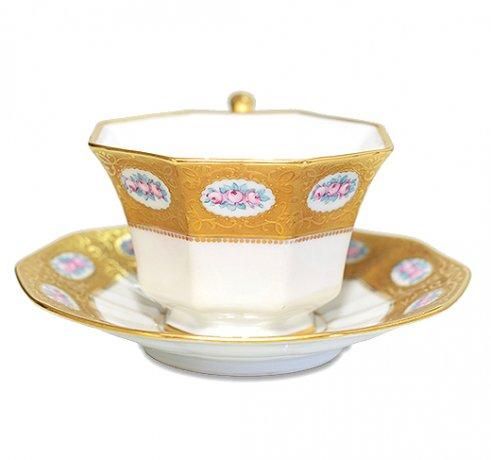 【送料無料】BAVARIA ババリア ティルシェンロイト ティーカップ &ソーサー  ババリア カップ 食器 TIRSHENREUTHの写真No.3