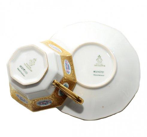【送料無料】BAVARIA ババリア ティルシェンロイト ティーカップ &ソーサー  ババリア カップ 食器 TIRSHENREUTHの写真No.7