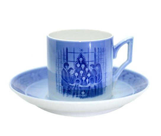 ロイコペ 1983年 イヤーカップ&ソーサー ロイヤルコペンハーゲン コーヒーカップの写真