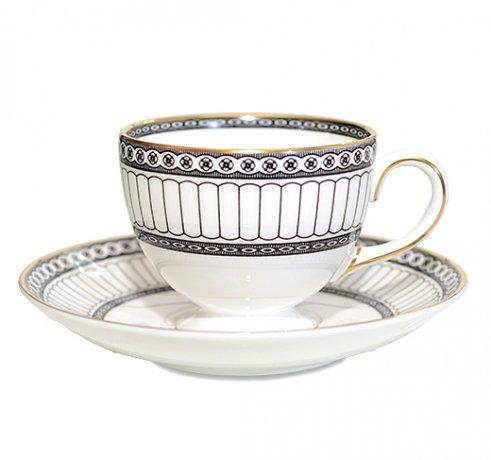 ウェッジウッド カップアンドソーサー コロネード リー コーヒーカップ  WEDGWODDの写真
