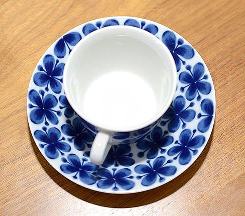 RORSTRAND ロールストランド モナミ コーヒーカップ &ソーサー【送料無料】チョッと訳ありの写真No.7