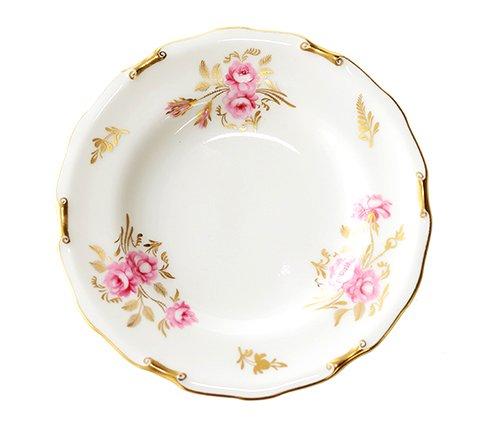 ロイヤルクラウンダービー ピンクストンローズ プレート16cm  陶磁器ブランド/Royal Crown Derby 皿 食器の写真No.2