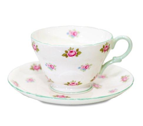 シェリー ローズバッド コーヒーカップ&ソーサー No13426の写真