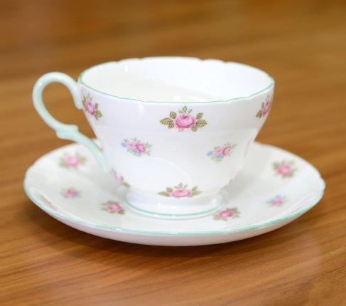 シェリー ローズバッド コーヒーカップ&ソーサー No13426の写真No.2