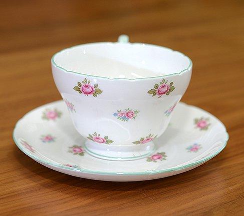 シェリー ローズバッド コーヒーカップ&ソーサー No13426の写真No.3