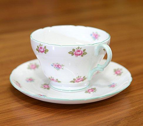 シェリー ローズバッド コーヒーカップ&ソーサー No13426の写真No.4