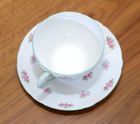 シェリー ローズバッド コーヒーカップ&ソーサー No13426の写真No.5
