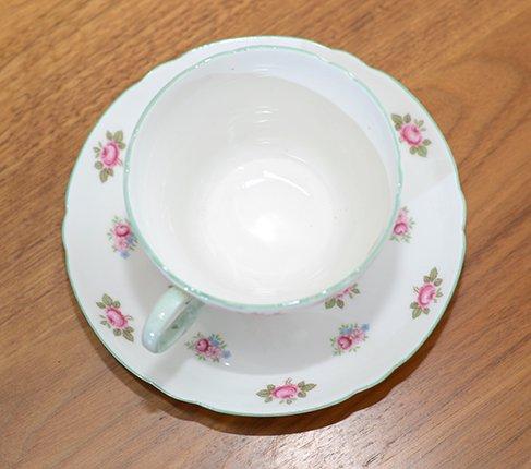 シェリー ローズバッド コーヒーカップ&ソーサー No13426の写真No.7