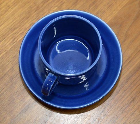gustavsbergグスタフスベリ ヴェロニカ コーヒーカップ&ソーサー 小さめサイズVeronikaの写真No.6