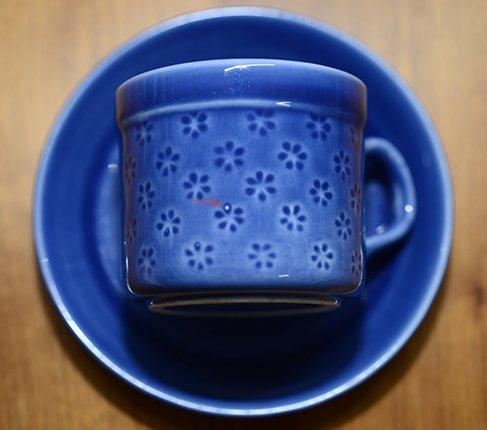 gustavsbergグスタフスベリ ヴェロニカ コーヒーカップ&ソーサー 小さめサイズVeronikaの写真No.7