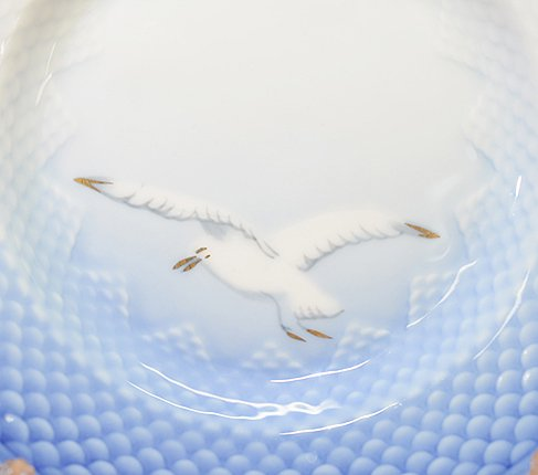 【訳あり】ビングオーグレンダール シーガル プレート16cm 26A 2枚セット BING&GRONDAHL seagullの写真No.6
