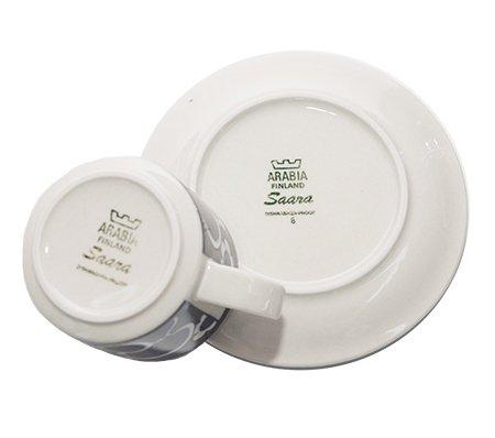 ARABIA アラビア サーラ ティーカップ&ソーサー 兼用カップ アラビア 食器の写真No.6