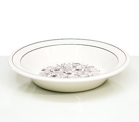 アラビア クロッカス BW ボウル 20cm スープ皿 エステリ・トムラARABIA Krokus アラビア 食器 finlandの写真