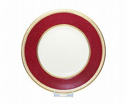 ウエッジウッド ユーランダー パウダー ルビー プレート 23cm w1813WEDGWODD 高級皿 ケーキ皿 パン皿 中皿【送料無料】の写真