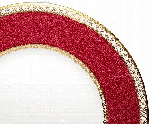 ウエッジウッド ユーランダー パウダー ルビー プレート 23cm w1813WEDGWODD 高級皿 ケーキ皿 パン皿 中皿【送料無料】の写真No.2