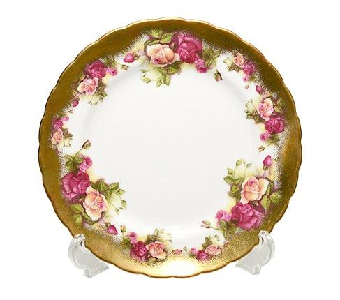 Royal Chelsea ロイヤルチェルシー ゴールデンローズ プレート 20cm ブランド食器 Royal Chelsea GOLDEN ROSEの写真