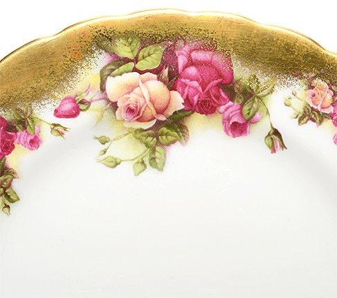 Royal Chelsea ロイヤルチェルシー ゴールデンローズ プレート 20cm ブランド食器 Royal Chelsea GOLDEN ROSEの写真No.3