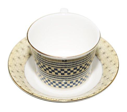 WEDGWODD ウェッジウッド サムライ/Samurai カップ&ソーサー インペリアル 紅茶カップ の写真No.3