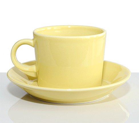 アラビア ティーマ イエロー コーヒーカップ&ソーサー Teema 廃盤の写真No.2