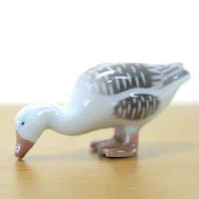 ◇【送料無料】B&G ビングオーグレンダール フィギュリン ガチョウ/Goose