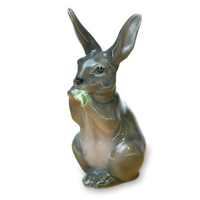 ◇【送料無料】ロイヤルコペンハーゲン/ROYAL COPENHAGEN フィギュリン ウサギ/Rabbitの写真