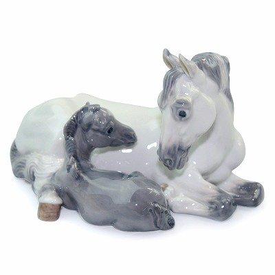 ◇ロイヤルコペンハーゲン/ROYAL COPENHAGEN フィギュリン 馬の親子/Mare&Foalの写真