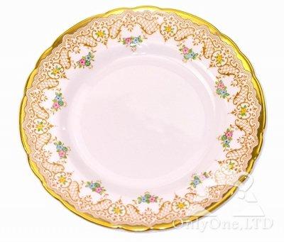◇イギリス タスカン/Tuscan ピンクゴールド/Pink Gold プレート 18cm