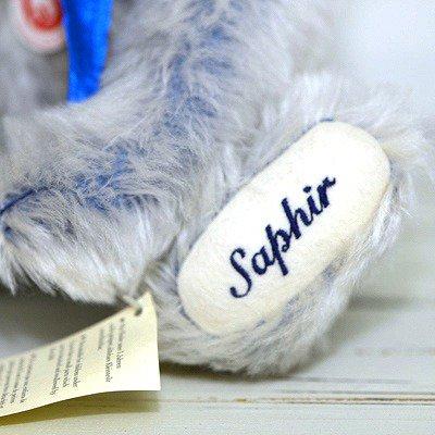◇【送料無料】シュタイフ/Steiff サファイアベア/Sapphire Teddybear ぬいぐるみ/2005年の写真No.7