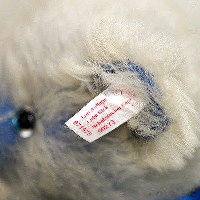 ◇【送料無料】シュタイフ/Steiff サファイアベア/Sapphire Teddybear ぬいぐるみ/2005年の写真No.8