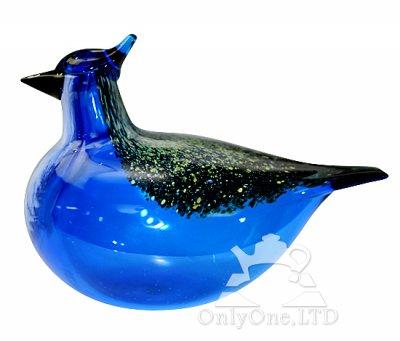 ◇【送料無料】【希少】イッタラ/iittala Oiva Toikka アニュアルバード/Annual bird 1999年 Blue Jayの写真