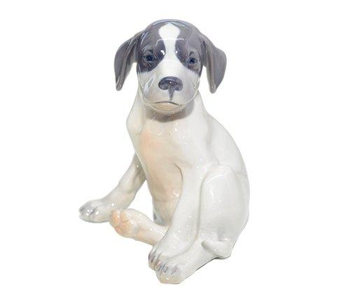 ROYAL COPENHAGEN フィギュリン ポインターの幼子/Puppy Pointer 206【送料無料】の写真