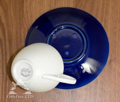 ◇ロールストランド/RORSTRAND 青い炎/Bla Eld ティーカップ&ソーサー(L)の写真No.4
