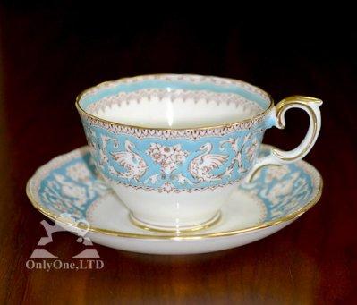 ◇クラウンスタフォードシャー Ellesmere コーヒーカップ&ソーサーの写真No.2