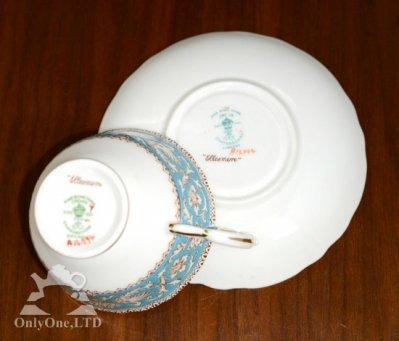 ◇クラウンスタフォードシャー Ellesmere コーヒーカップ&ソーサーの写真No.6