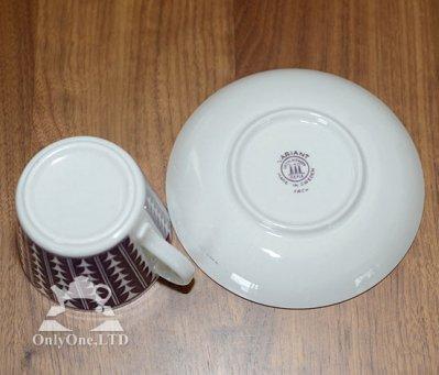 ◇ゲフレ/Gefle ウプサラエクビー/Upsala Ekeby バリアント/Variant パープル コーヒーカップ&ソーサーの写真No.4