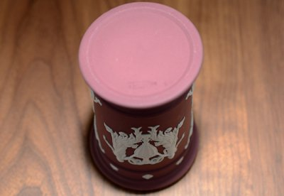 ◇ウェッジウッド/WEDGWOOD ジャスパー/Jasper ワイン/Wine フラワーベースの写真No.3