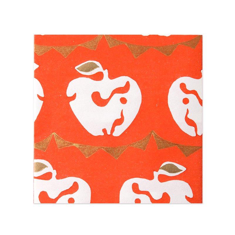 木版和紙 りんご子象(全2色)