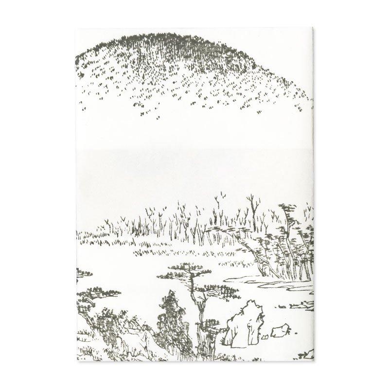 ブックカバー 歌川広重「京都名所之内 金閣寺」
