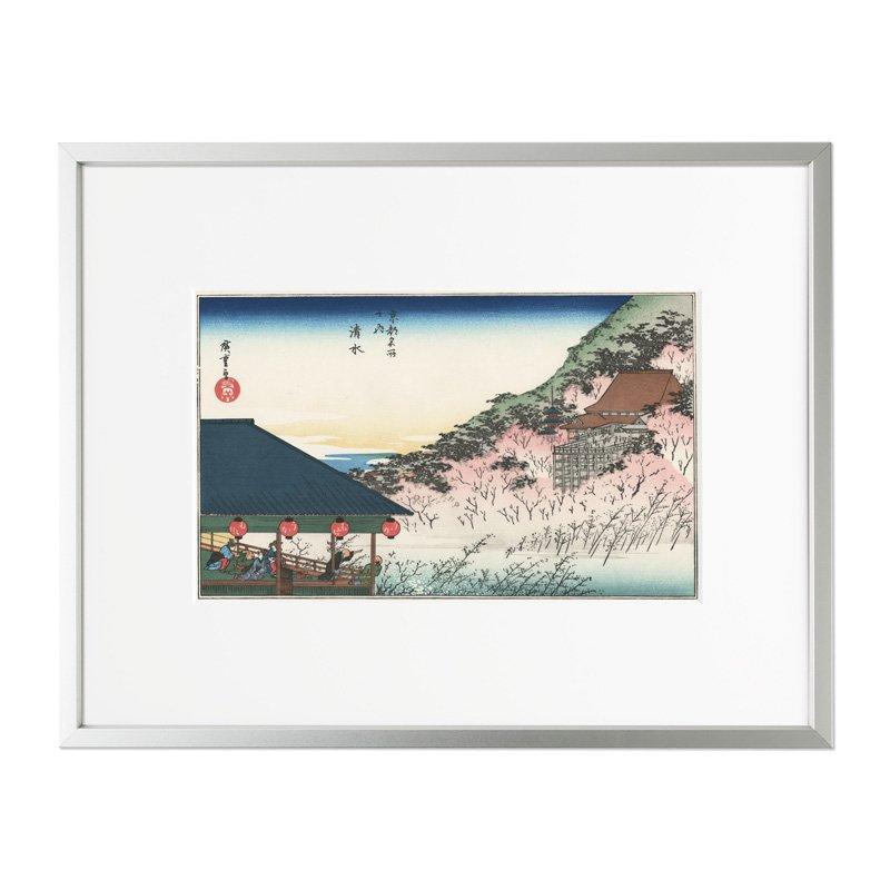 浮世絵 歌川広重 京都名所之内 清水